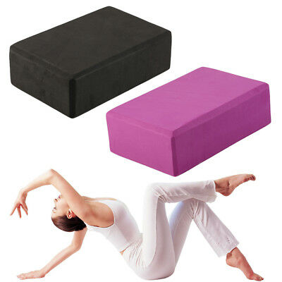 ECO-Friendly Cork Yoga Block Organic Yoga Prop Accessory Exercise Brick AU