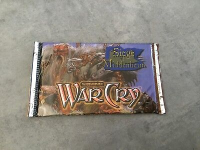 Booster carte card warhammer war cry neuf scellé sealed  rare