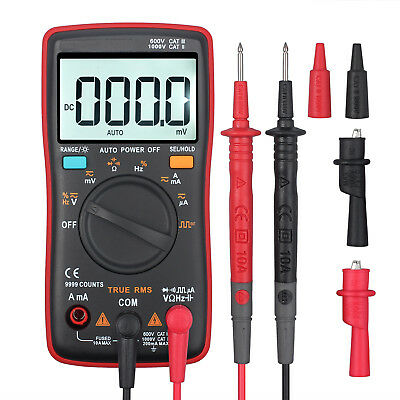 ANENG AN8008 True-RMS-Digitalmultimeter 9999 zählt Amperemeter-Wellenspannung DE
