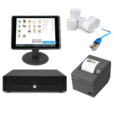"Square POS Hardware with the Kensington iPad 9.7"" Enclosure & Stand Bundle #12"