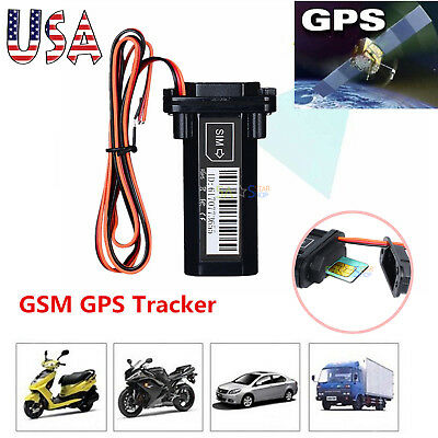Waterproof GPS Tracker Real Time Tracking Device Locator for Car Truck Motorbike