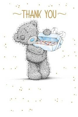 Thank You Card - Thank You Tatty Teddy Bear & Gift - Me To You (C96)