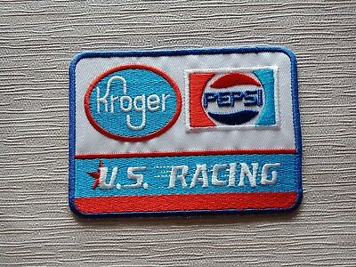 PEPSI COLA Soda Soft Drink U.S. Racing Sew Embroidered Iron On Patches Free Ship