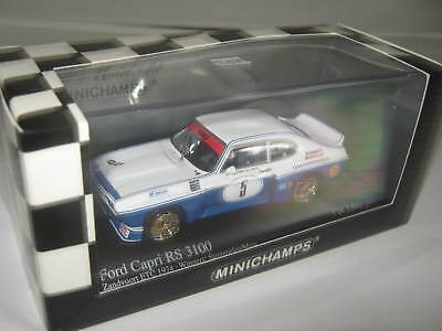 1:43 Ford Capri RS3100 Stommelen Mass 1974 MINICHAMPS LE 430748005 OVP new