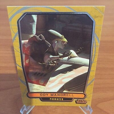 Star Wars Galactic Files Series 2 ODY MANDRELL # 356