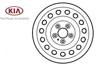 Genuine Kia Ceed 2012-2017 Space Saver Spare Wheel 52910A6900