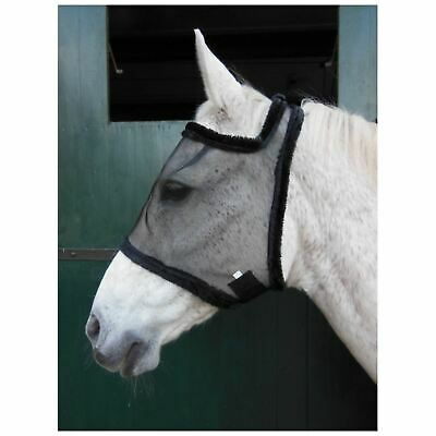Horka Anti Fly Mask Soft Mesh Earless Lightweight Horse Comfort Face Protection