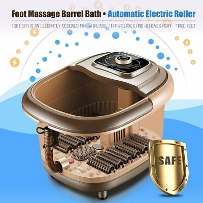 Portable Foot Spa Massager Heated Magnetic Therapy Infrared Massage Pedicure  H7