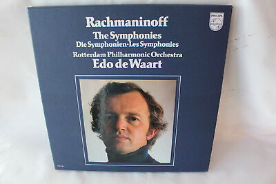 Edo de Waart, Rachmaninoff - The Symphonies, Philips Stereo, 4 LP Box, M-