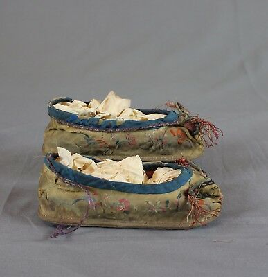 Antique Chinese Foot Binding Shoes Original