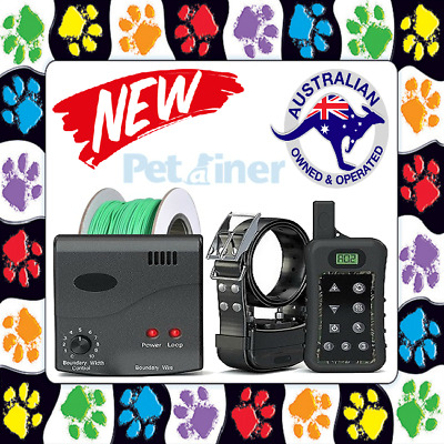 1-Dog Electronic Hidden Waterproof Dog Fence System Electric Collar Fencing