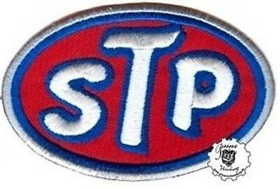 STP -  Patch Aufnäher Biker Nascar Vintage Hot Rod Old School Racing