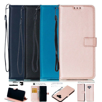 Magnetic PU Leather Wallet Flip Protective Case Cover for Samsung Galaxy Note 9