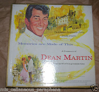 Dean Martin: Memories are made of this.... (Record Box Set) Longines Symphonette