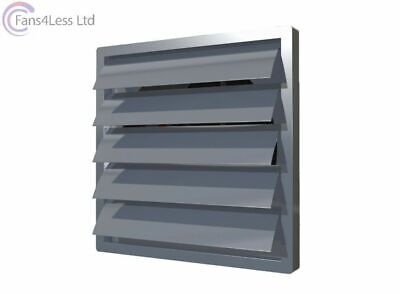 """Air Grille Cover Gravity Flap Shutter Extractor Fan Ventilation 8"""" to 16"""""""