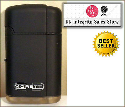 BRAND NEW Moretti Spark Torch Lighter BLACK 100% RATED SELLER FAST SHIPPING