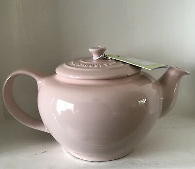 Le Creuset Stoneware Classic TeaPot In Pink (New)