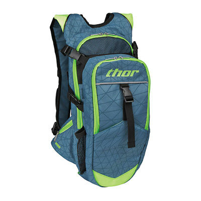 Thor Hydrant 3 Liters MX Motocross Offroad Hydration Pack Steel/Flo Green