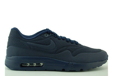 sports shoes d5f61 0786f Nike Air Max 1 Ultra Moire Sneakers Scarpe Uomo Blu Nuovo