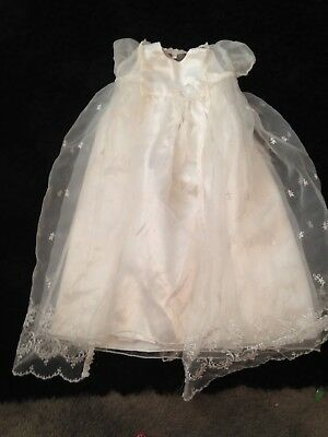 lace christening gown 6/12 months
