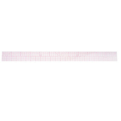 Prettyia Plastic Metric & Imperial Ruler for Quilting Tailor Sewing Tool