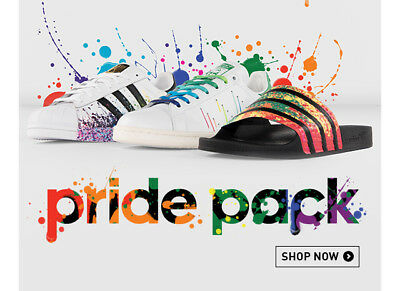 Adidas Superstar Pride Pack Limited Edition - Uomo/Donna (dal 36 al 44) - Nuove!