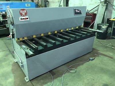 BMT Hydraulic Sheet Metal Guillotine