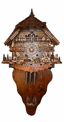 Cuckoo Clock Black Forest house 7.9500.01.P NEW