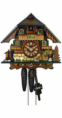 Cuckoo Clock Little Black Forest House 1.0312.01.C NEW