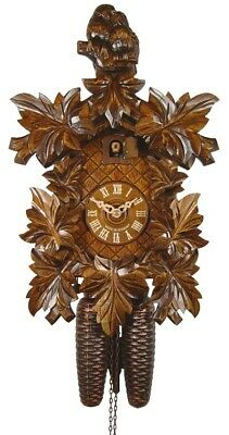 Cuckoo Clock Pair of birds, 8-leaves 2.5015.01.P NEW