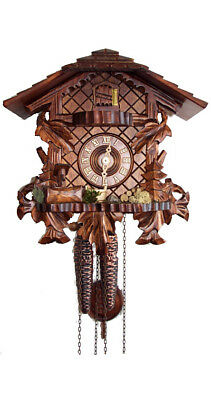 Cuckoo Clock Three Leaves with Console 1.4511.01.P NEW