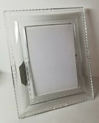 Waterford Crystal Ardmore Picture Frame Holds 5x7 Photo
