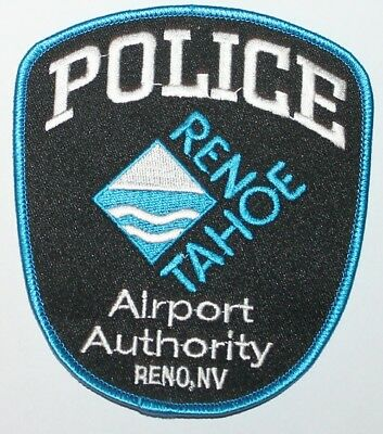 RENO TAHOE AIRPORT AUTHORITY POLICE Nevada NV Nev PD patch FAA