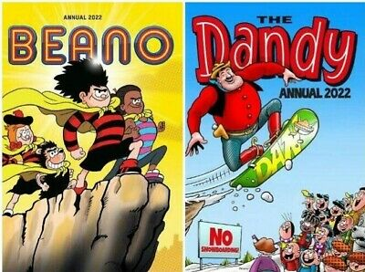 Beano and The Dandy 2019 Annual 2 Book Set, DC Thompson**FREE & FAST DELIVERY**