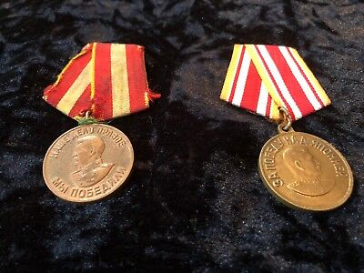 WW2 Russian Victory medals