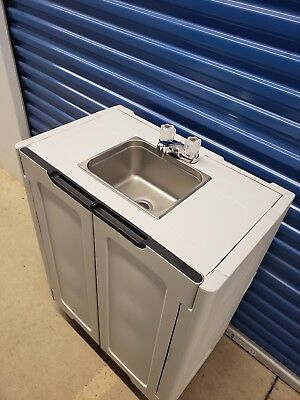 Portable Sink/ Hand Wash Sink/ Self Contained NSF Sink hot and cold water 110V