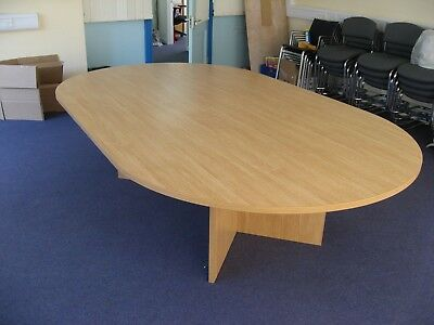 Large Conference Oval Boardroom Meeting Table
