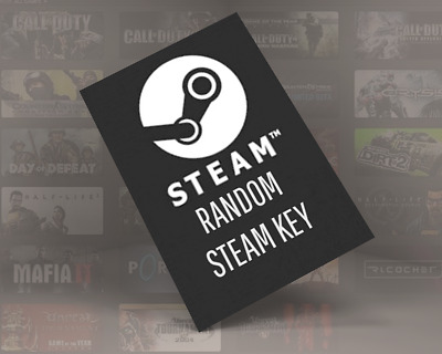 1x Random Steam Key Region Free - Instant Delivery!!1 Buy it Now!