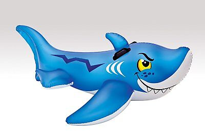 Inflatable Shark Ride On Intex Recreation Friendly Pool toy 56567EP