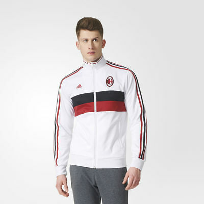 31d900fb9ecc BRAND NEW  90 adidas Men s AC Milan 3-Stripes Track Jacket White BP8195