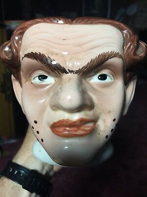 Large Rare Early Disney Character Face Mug Villian Royal Doulton Toby Jug?