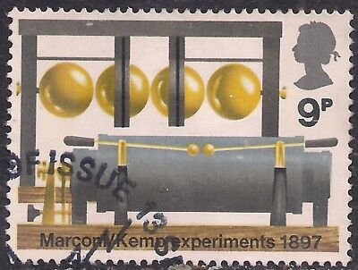 GB 1972 QE2 9p Broadcasting Anniversaries used stamp SG 912 ( A1154 )