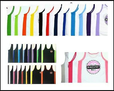 BALI BINTANG BEER SINGLET LARGE T SHIRT ASSORTED COLOURS SIZE L  Mens Ladies