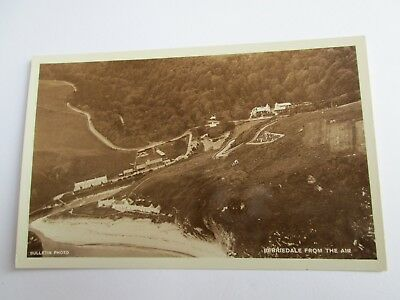 Postcard of Berriedale from the Air (Caithness) Bulletin Photo Unposted