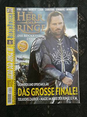 Herr der Ringe - III - Magazin - Tolkien - Movie Blockbuster Heft 4