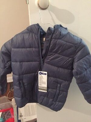 NEW Kids boys  puffer Jacket size 6 Lily And Dan Brand