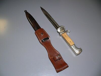 Swiss Swedish Army Officers Clam Shell Dagger Model 1932