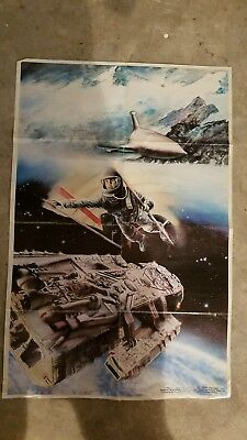"""Battlestar galactica poster """"Journey To The Far Side of the Sun"""" 1978"""