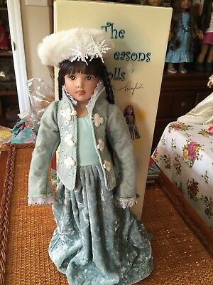 Helen Kish doll from the Four Seasons collection, Winter, EXCELLENT CONDITION!!!
