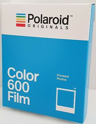 Polaroid Originals 600 Instant Film - 8 Colour photos, Production Date Jan 2018